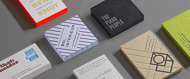 Letterpresso Letterpress Online Druckerei